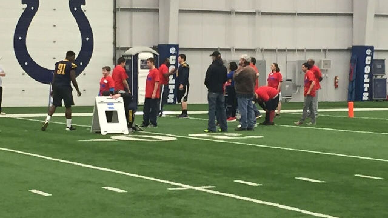 PHOTOS: Special Olympics Mini Combine