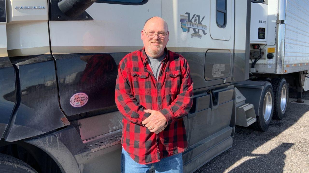 K&K truck driver Kenneth Brooks