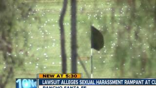 Lawsuit says rampant sexual harassment at country club