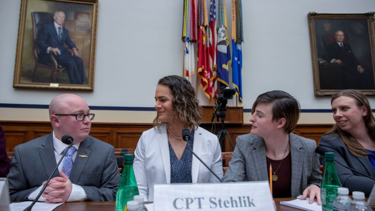 Transgender troops testify openly in front of House of Representatives