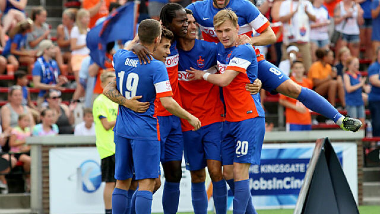 FC Cincinnati will have to build a Major League Soccer-caliber roster if accepted to league