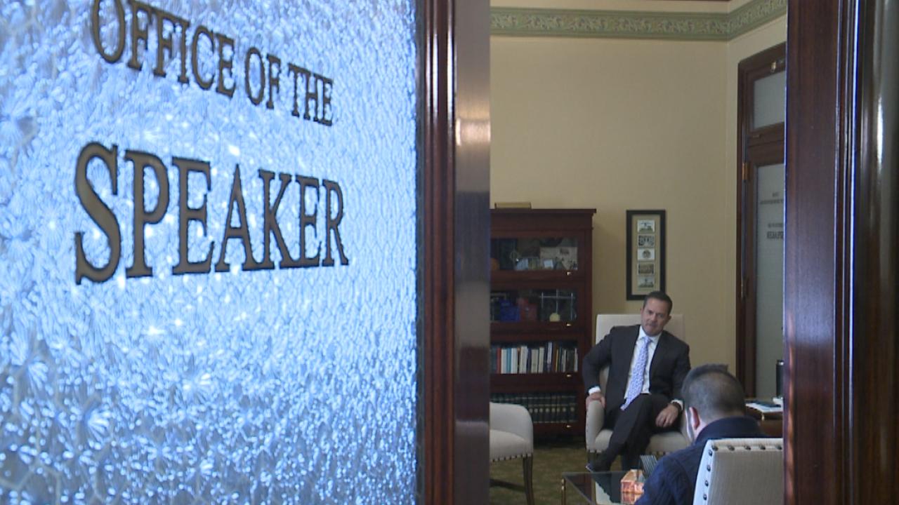 House Speaker Brad Wilson outlines Republican majority's priorities in the 2020 Utah StateLegislature