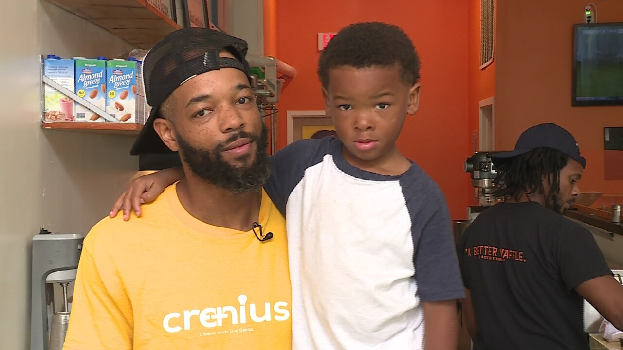 Father and son raise thousands for Richmond school, urge other parents to getinvolved
