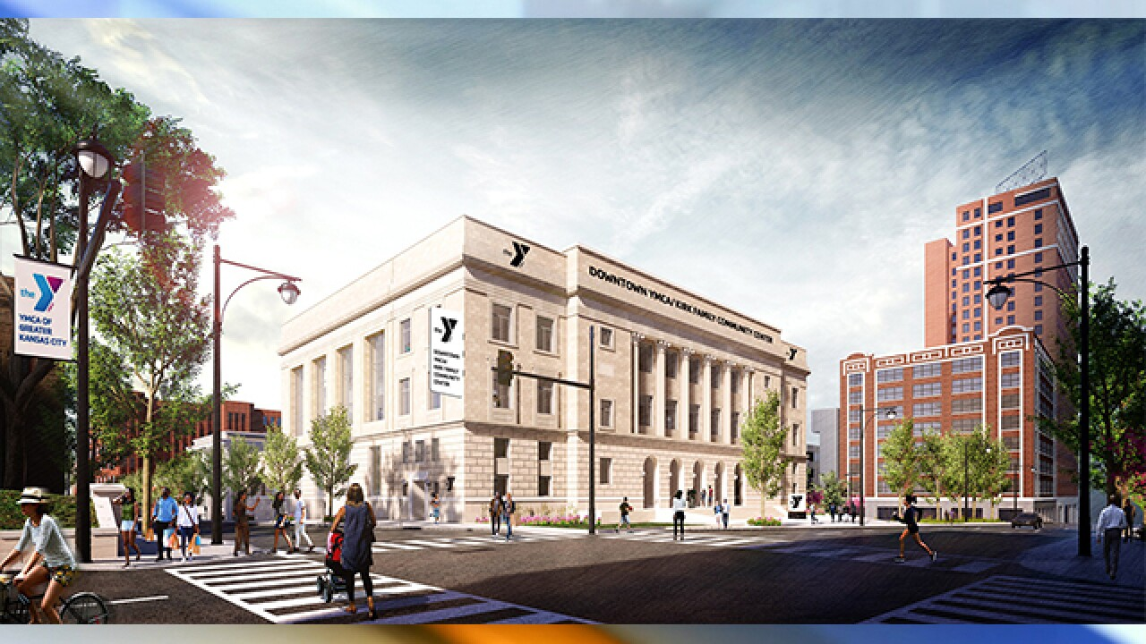 YMCA breaks ground on new downtown project