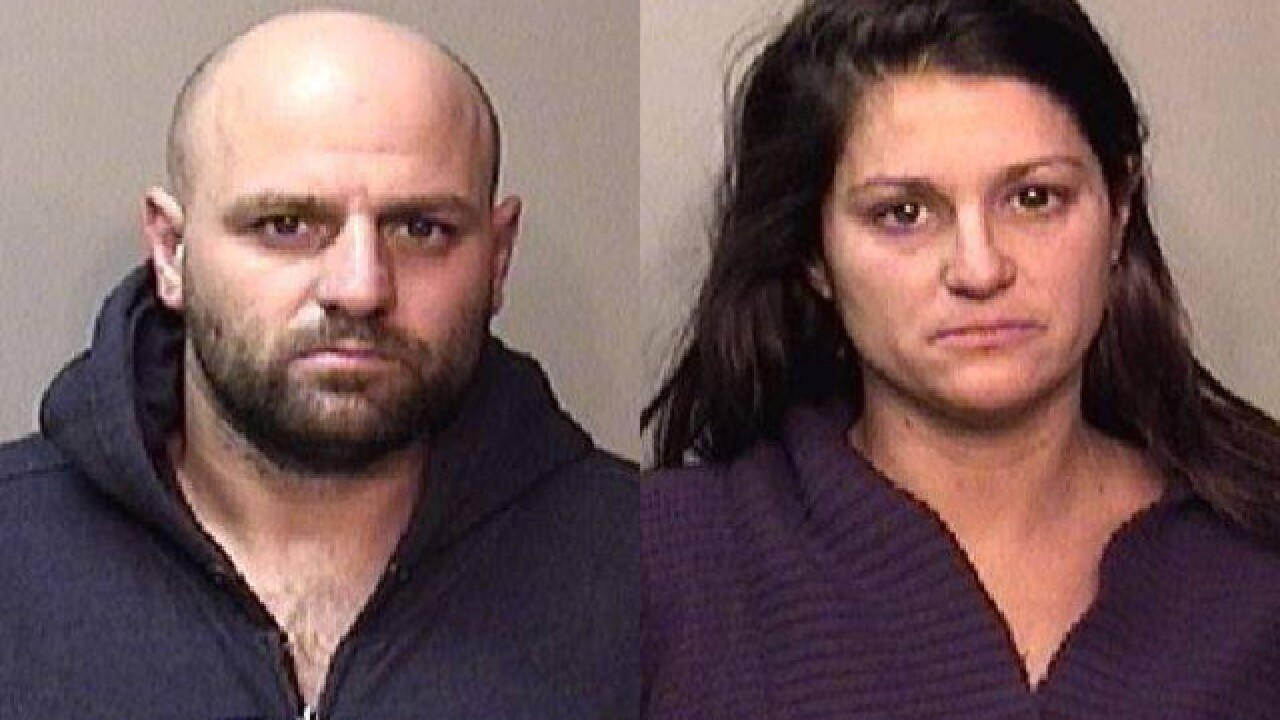 Two people facing charges after traffic stop