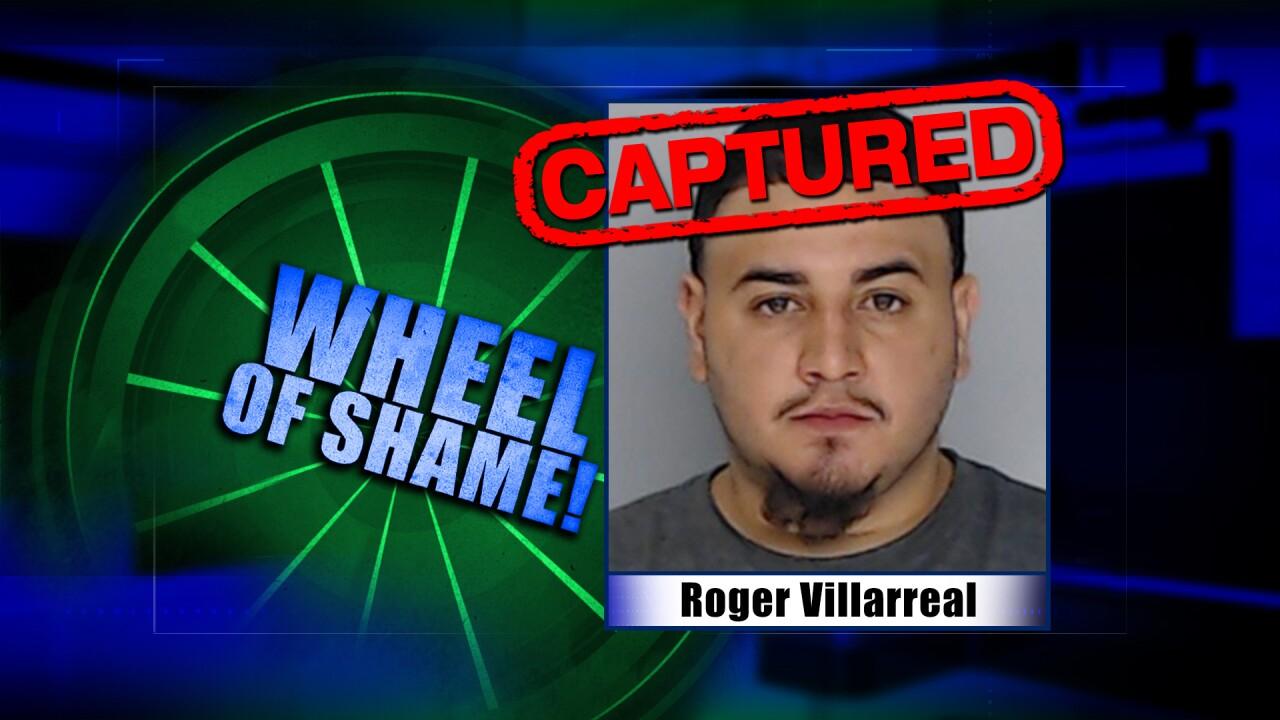 Wheel Of Shame Fugitive Arrest: Roger Villarreal