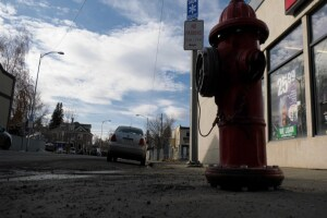 Bozeman police searching for suspect who hit fire hydrant with car, then stole it