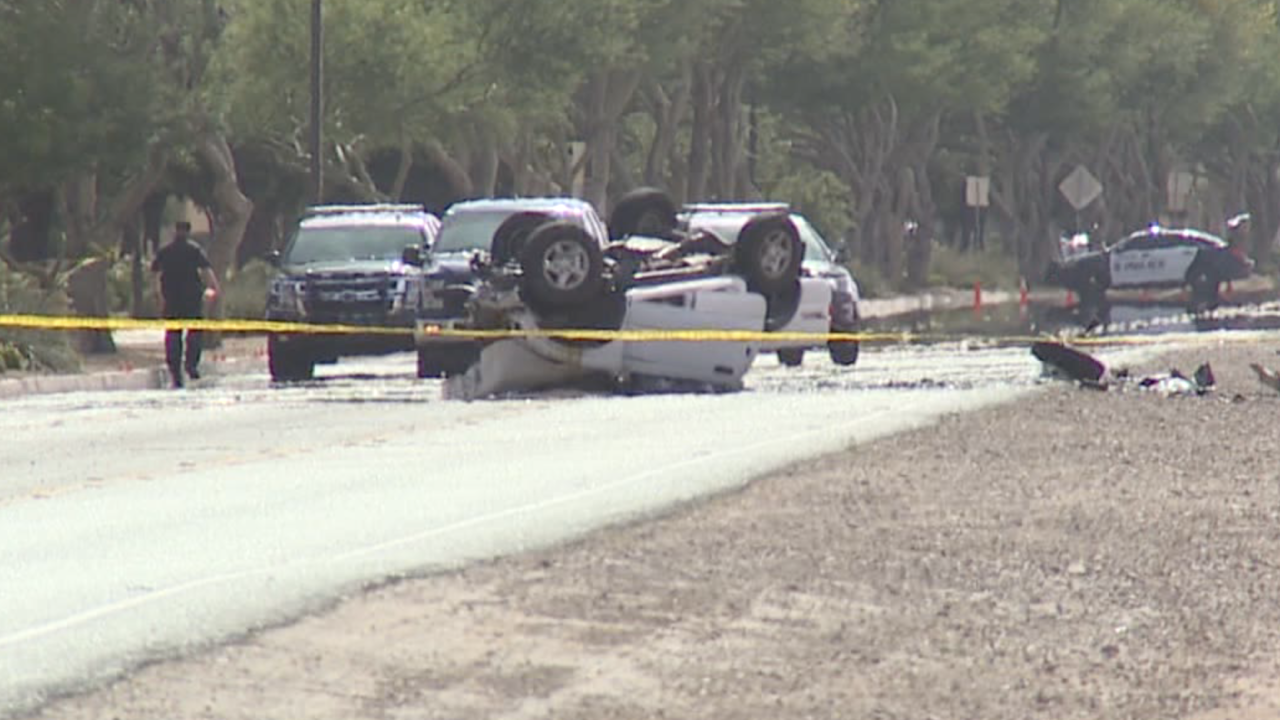 Collision at Higley and Chandler Heights