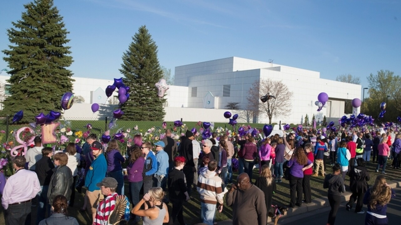 Hearing set for Prince's estate in suburban Minneapolis