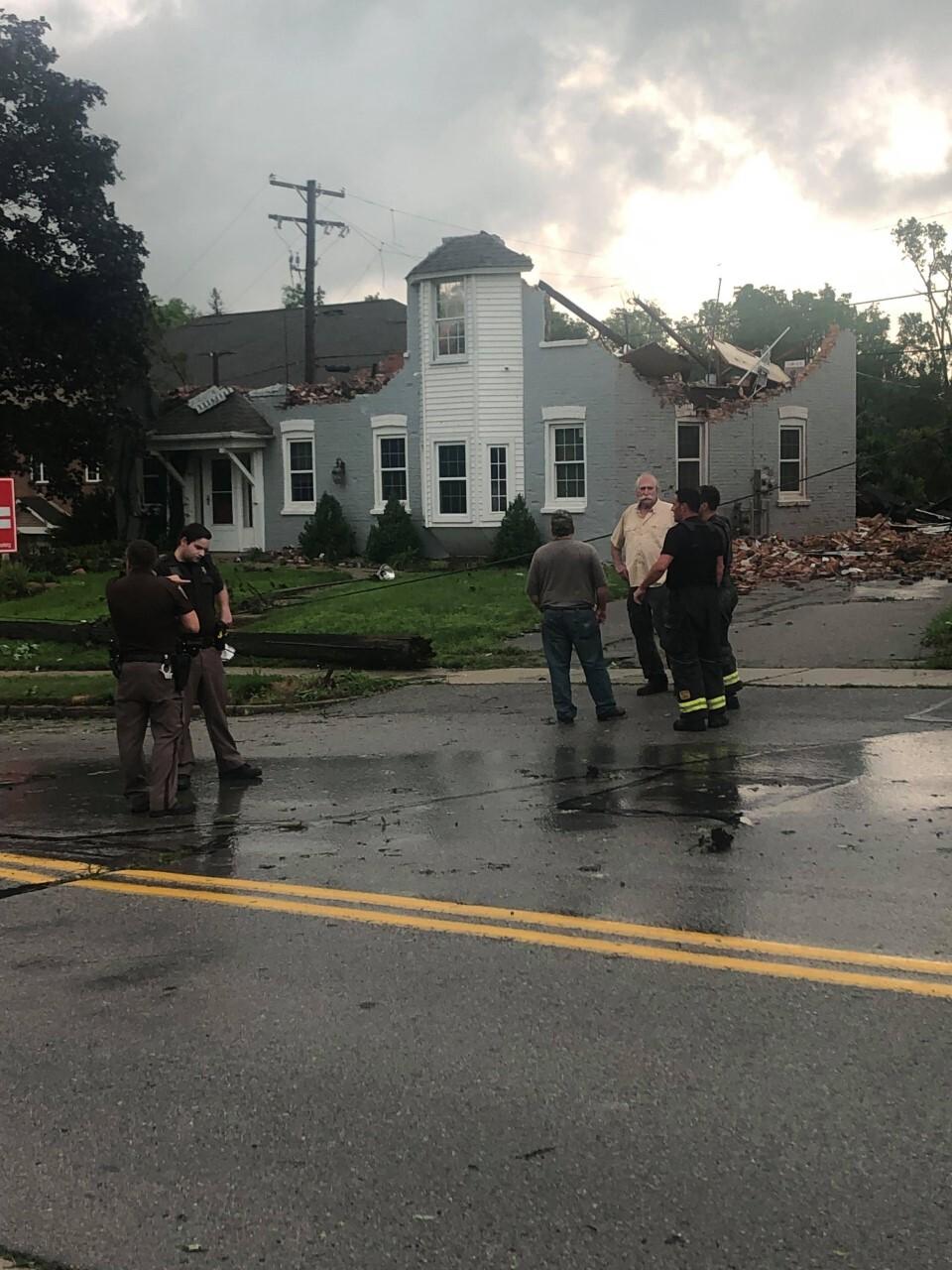 Macomb County storm damage