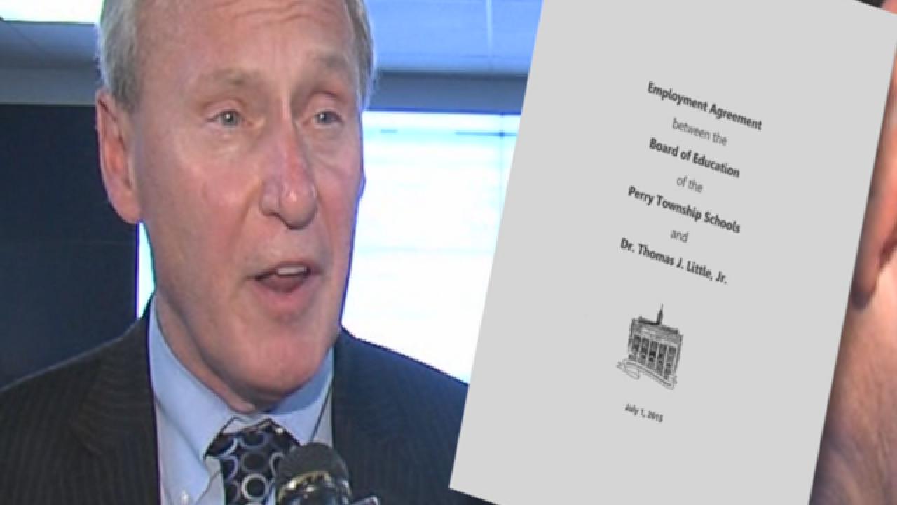 Ex-Perry Twp schools superintendent got $385,304