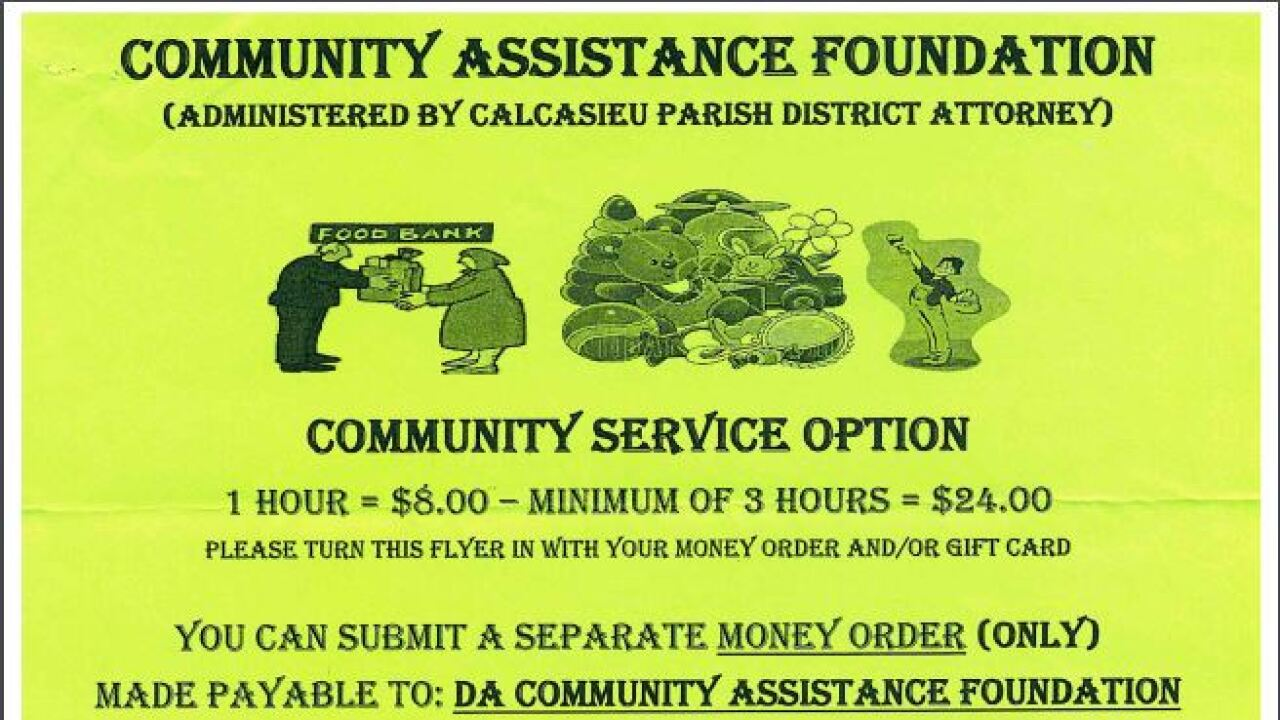DA community assistance foundation