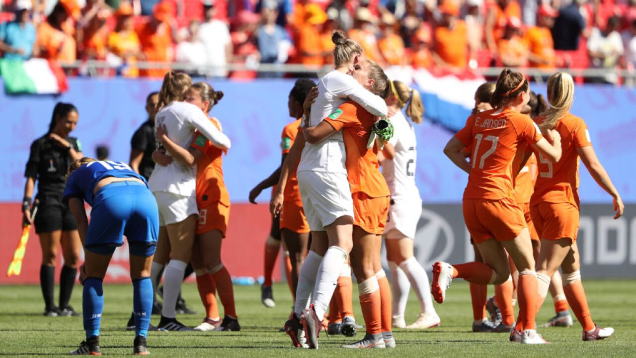 Italy v Netherlands: Quarter Final  - 2019 FIFA Women's World Cup France