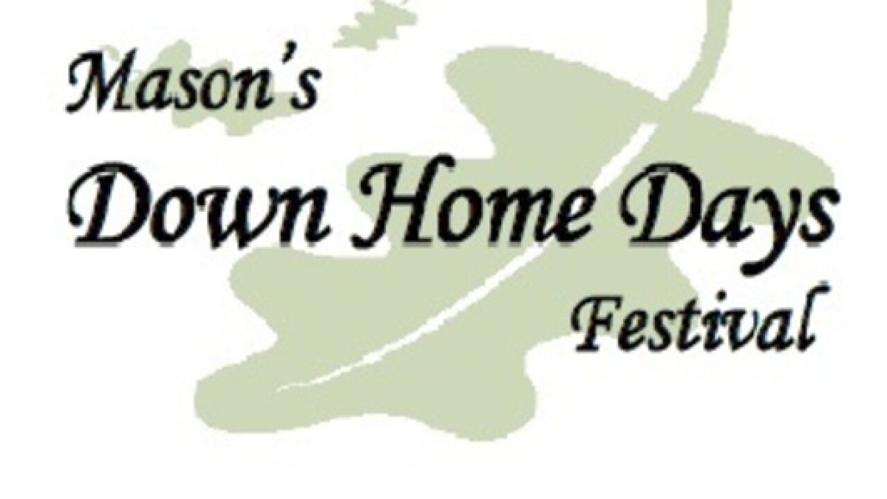 Crafters Wanted for Mason's 45th Anniversary Down Home Days Courthouse Show