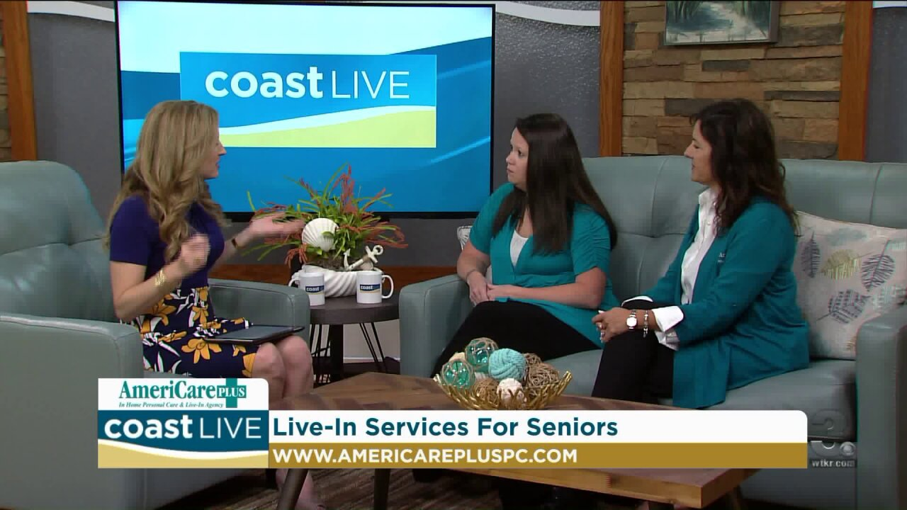 How in-home services can help with safety and security on Coast Live