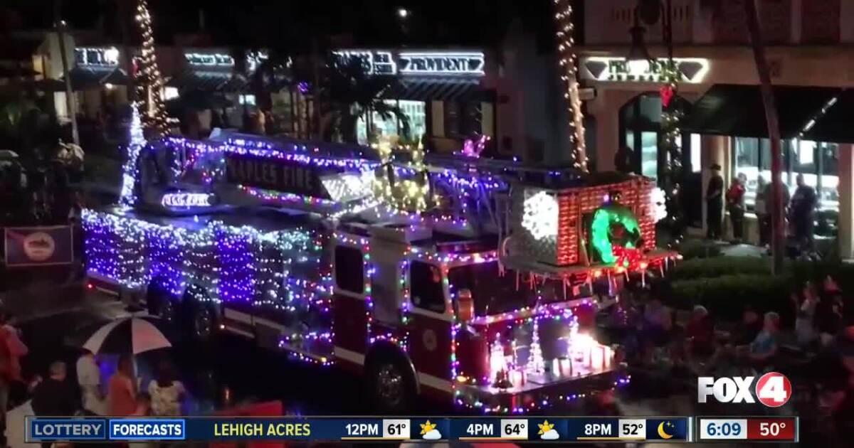 2021 Naples Christmas Parade Road Closures Due To Naples Christmas Parade