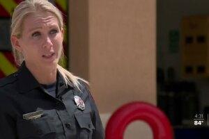 Fire Medic Kelsey Krzywada