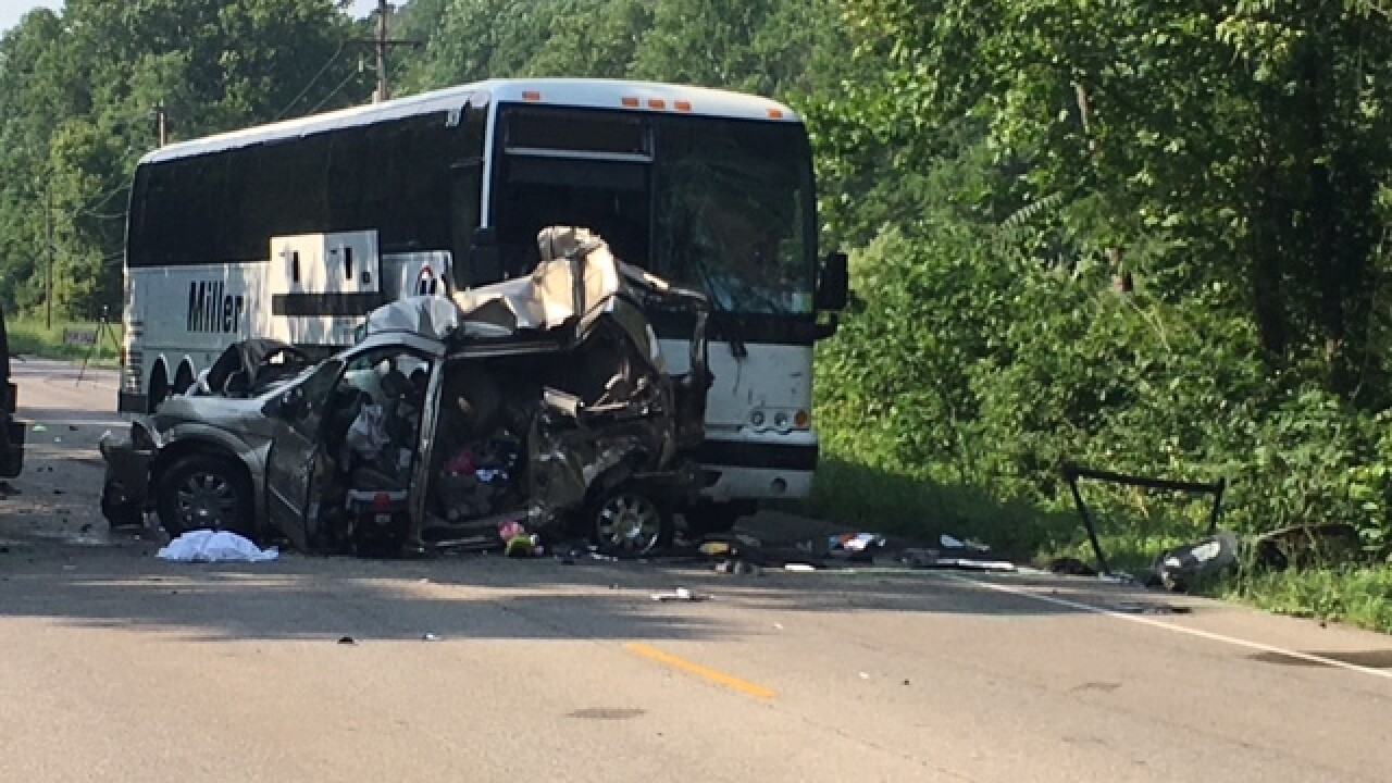 Three people killed in crash involving Miller Transport bus