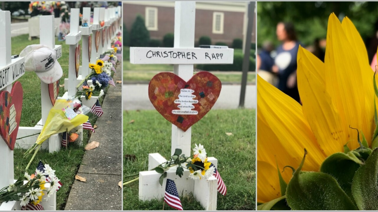 'People coming from all over' to Virginia Beach memorial: 'We're suffering, but we are strong'