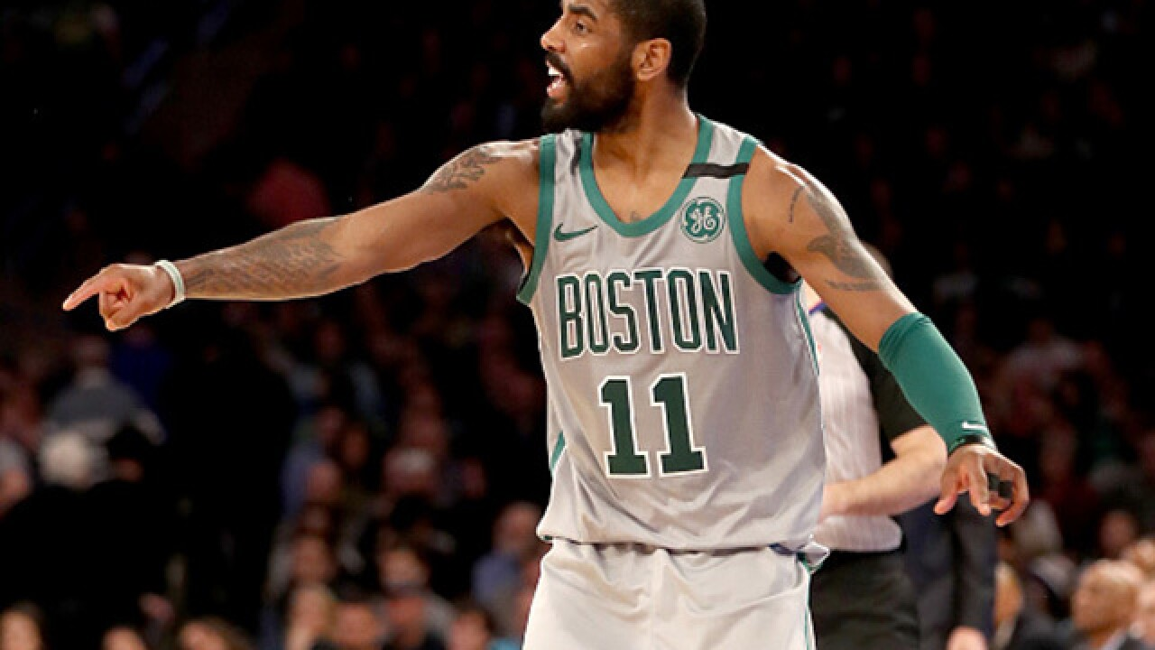 Kyrie Irving on flat-Earth comments: 'I'm sorry'