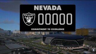 PHOTOS: Las Vegas Raiders license plate prototype
