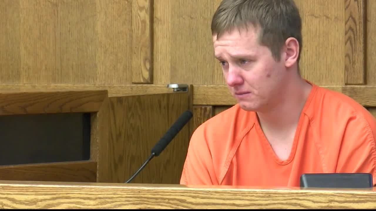 Mason Drake in court on November 8