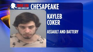 Chesapeake Police arrest suspect wanted for assault and battery