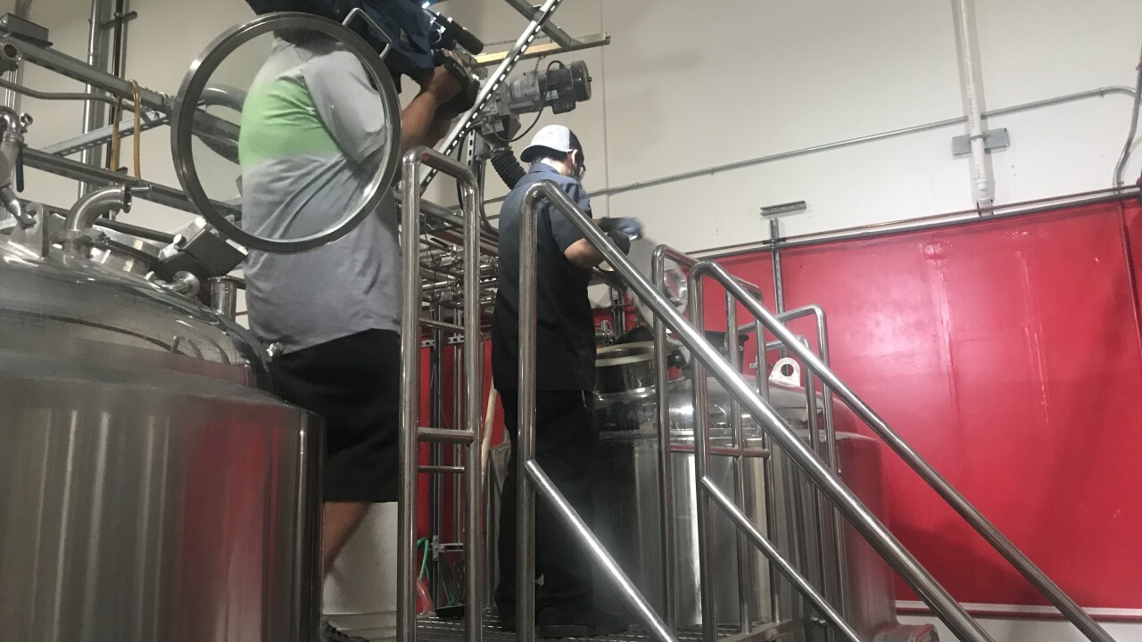 Bad Beat Brewing helps with Camp Fire fundraiser