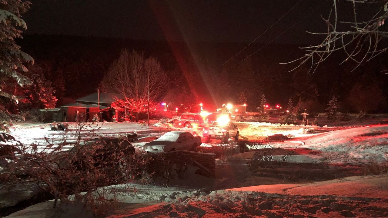 Huson home destroyed by fire