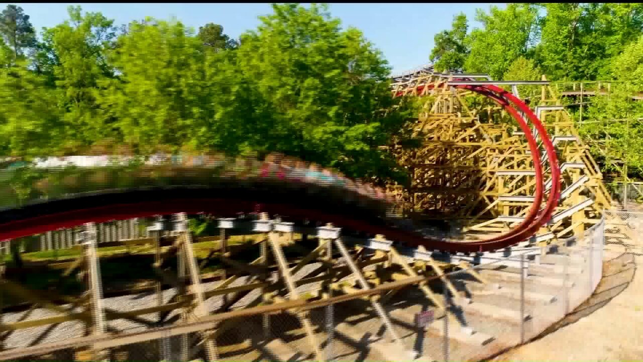 Kings Dominion OpeningDay