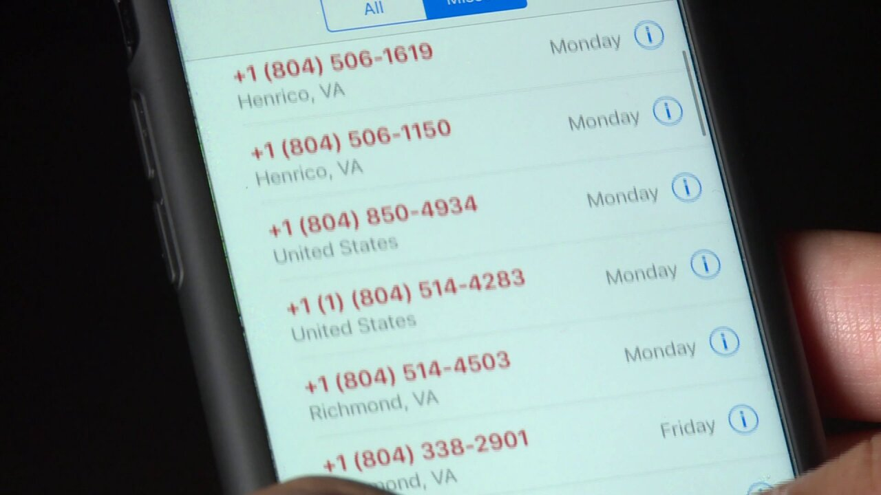 Virginia looks to ban those annoying 'spoof' phone calls that blow up your phone