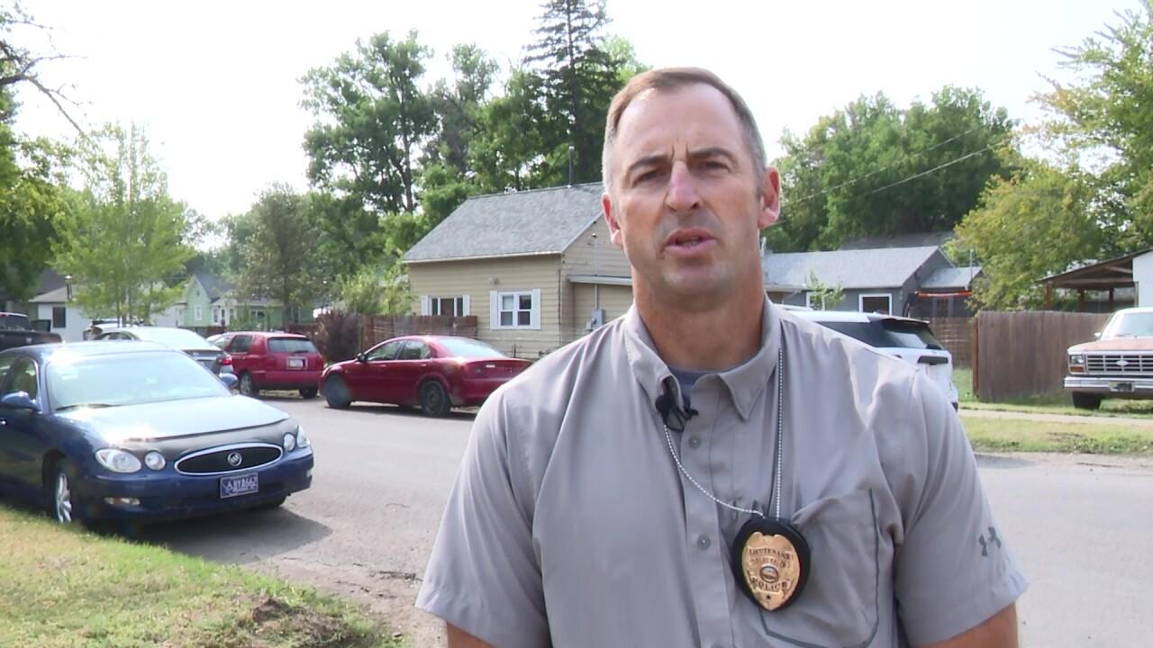 Lt. Doug Otto of the GFPD