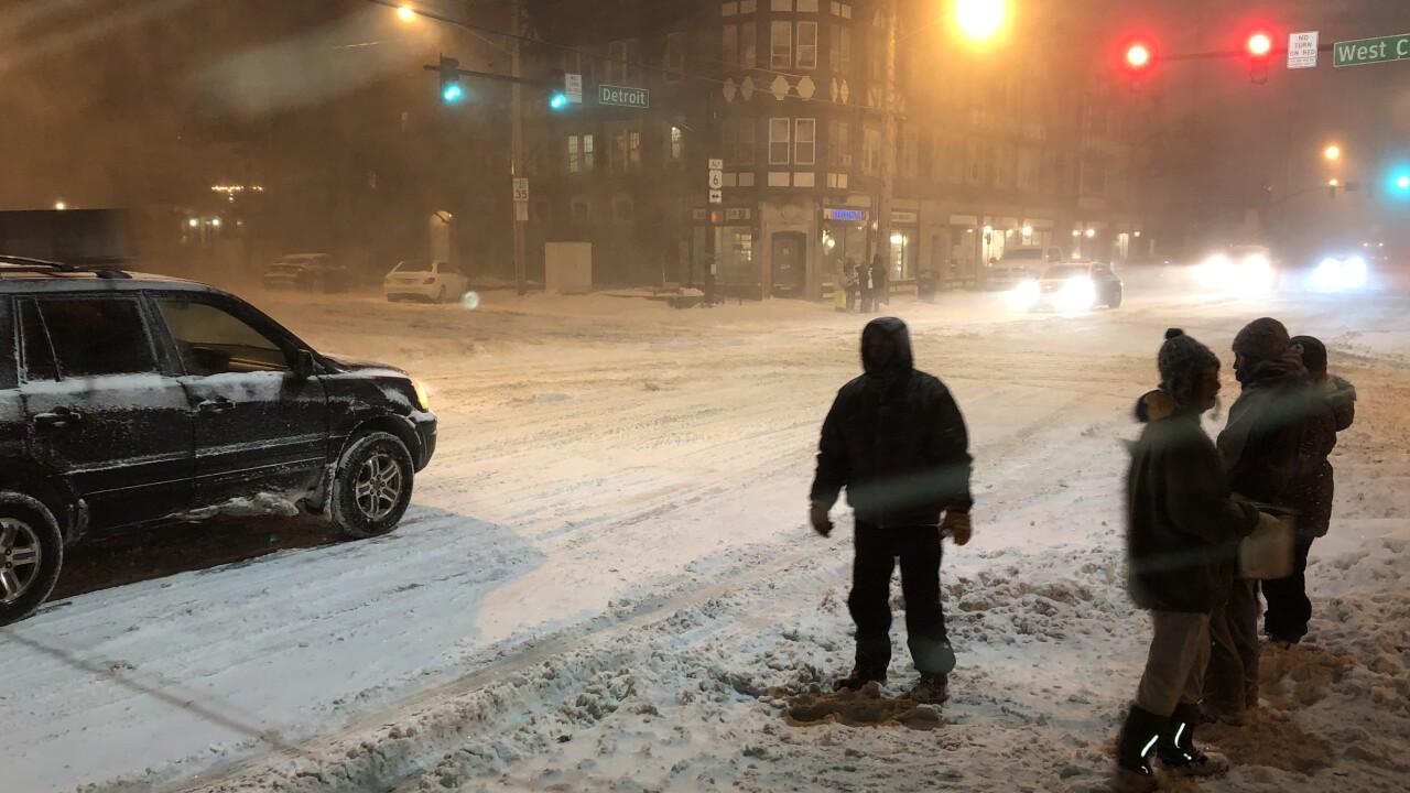 people-snow