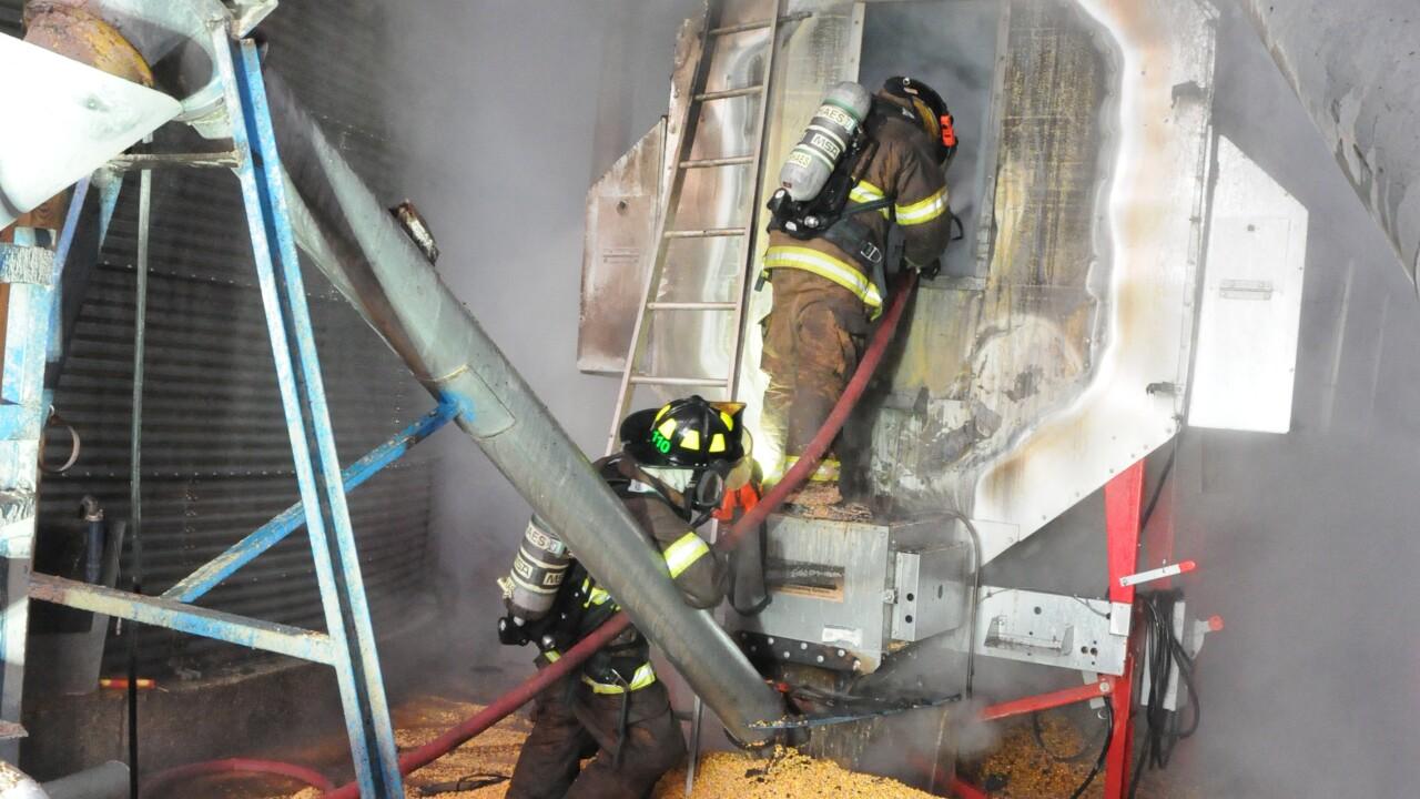 hamlin farm fire casco township 112819 4.JPG