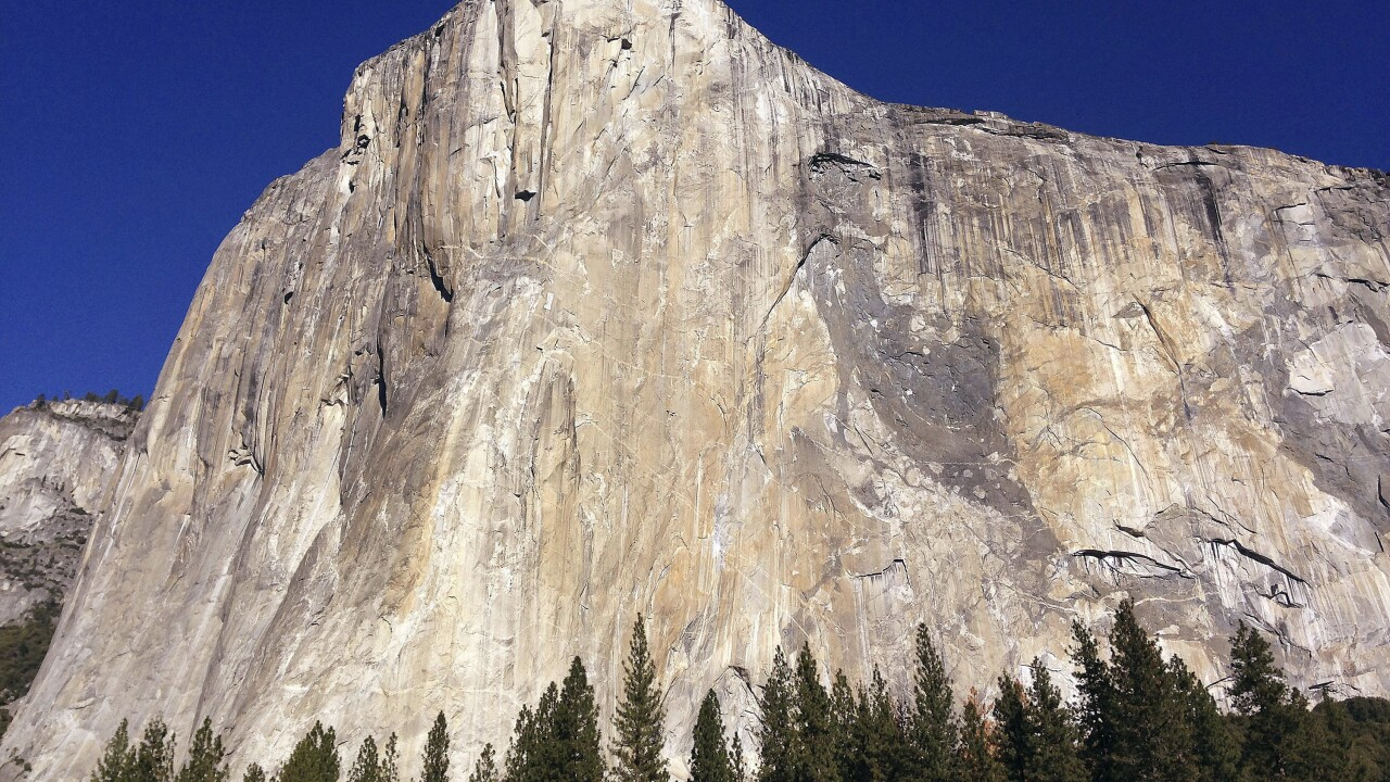 Woman becomes 1st female climber to free-climb El Capitan's Golden Gate route in 1 day
