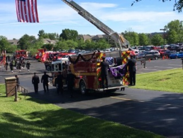 West Chester Township lays community firefighter Tim Burns to rest