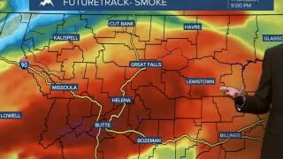 Smoky, Breezy, and Very Warm on Thursday