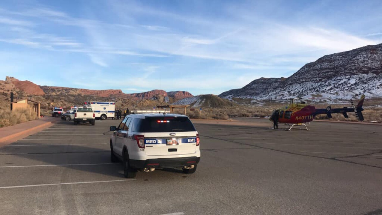 Person suffers from cardiac arrest near Delicate Arch Trail in Moab, in critical condition