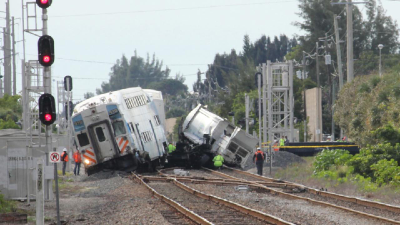 Tri-Rail hits truck; Service suspended in PBC