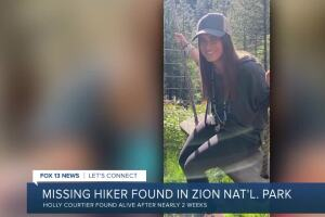Missing woman found safe in Zion National Park