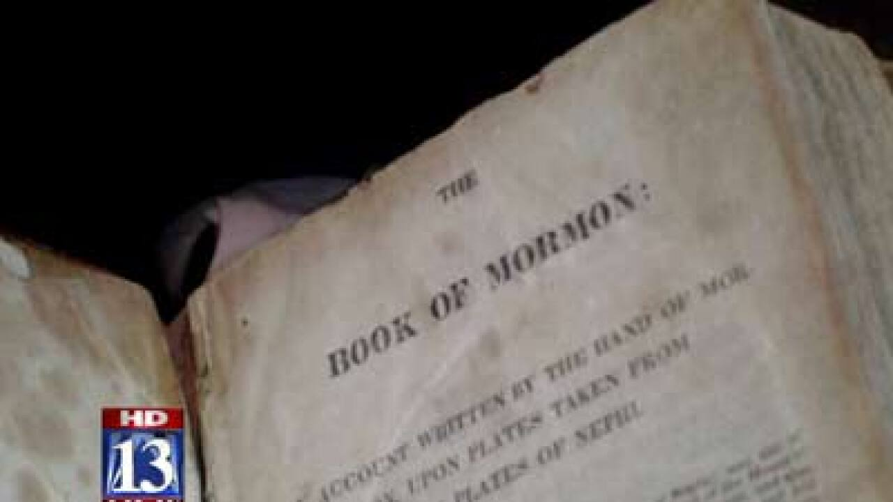 Stolen Book of Mormon recovered
