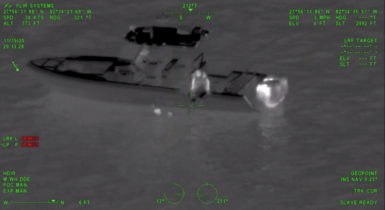 FWC rescues couple after jet ski crash near Tampa