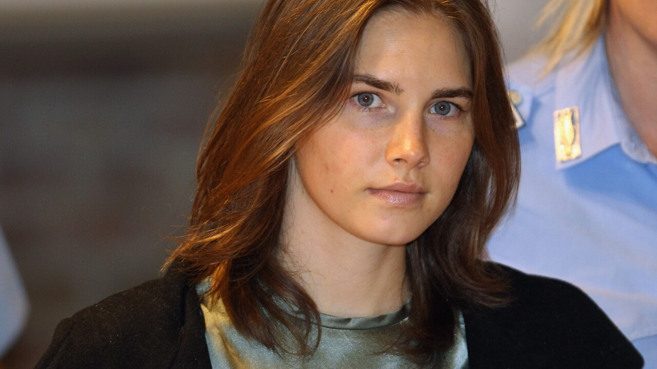 Amanda Knox arrives in Italy for first time since prison release