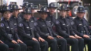 Denver Sheriff Department graduation ceremony