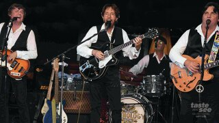 Just announced, Anthology the Beatles Tribute playing the Greatest Hits at the Raymond F Kravis Center for the Performing Arts, Rinker Playhouse.