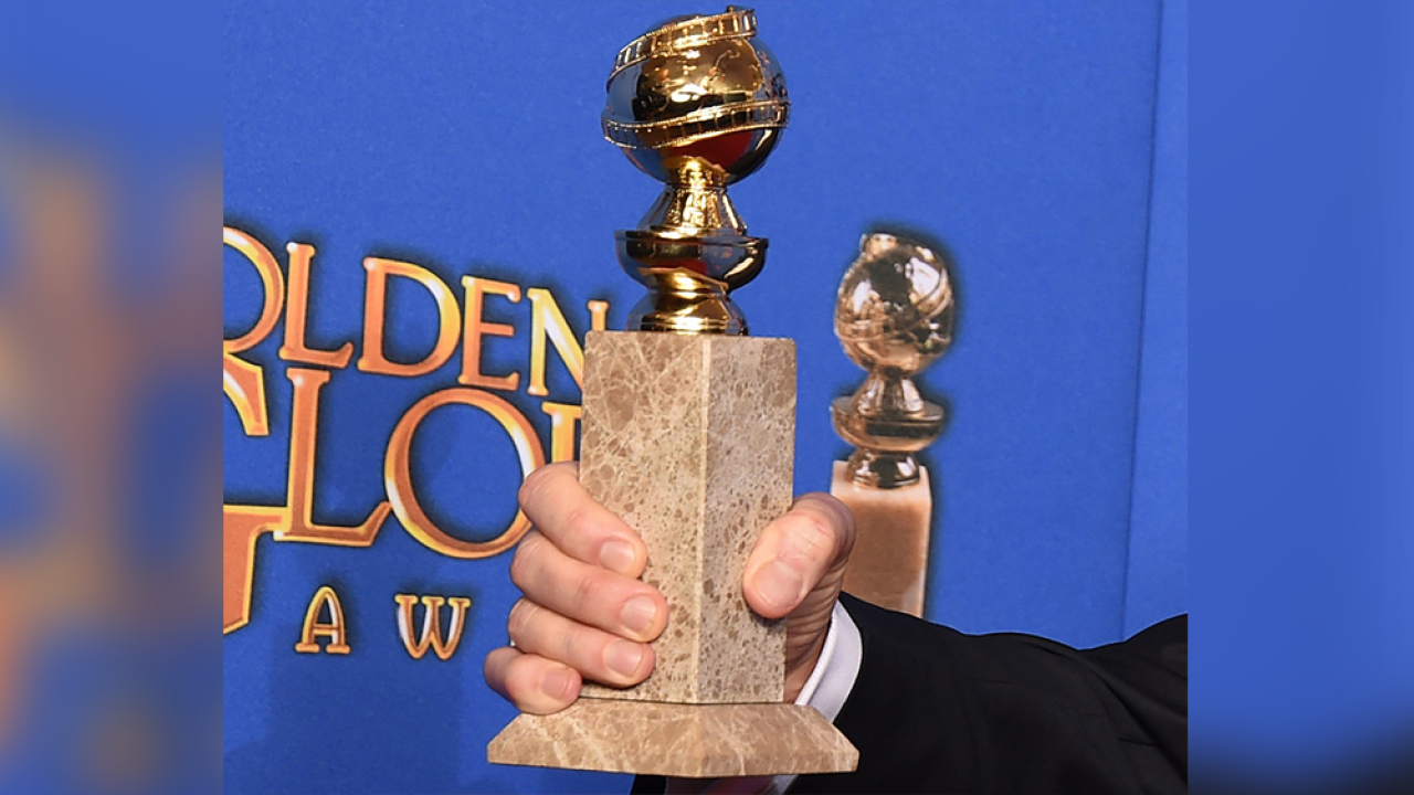 Golden Globes trophy