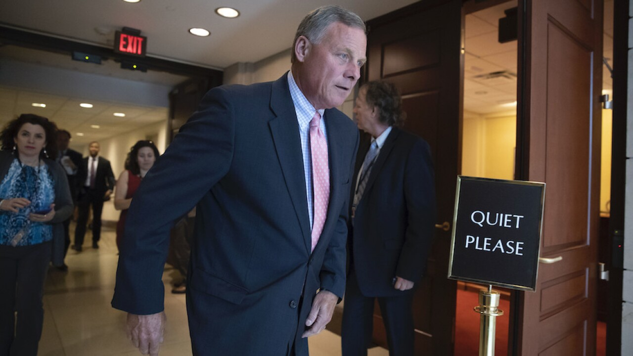 Sen. Richard Burr steps down as Senate Intel Committee chair amid stock sale investigation