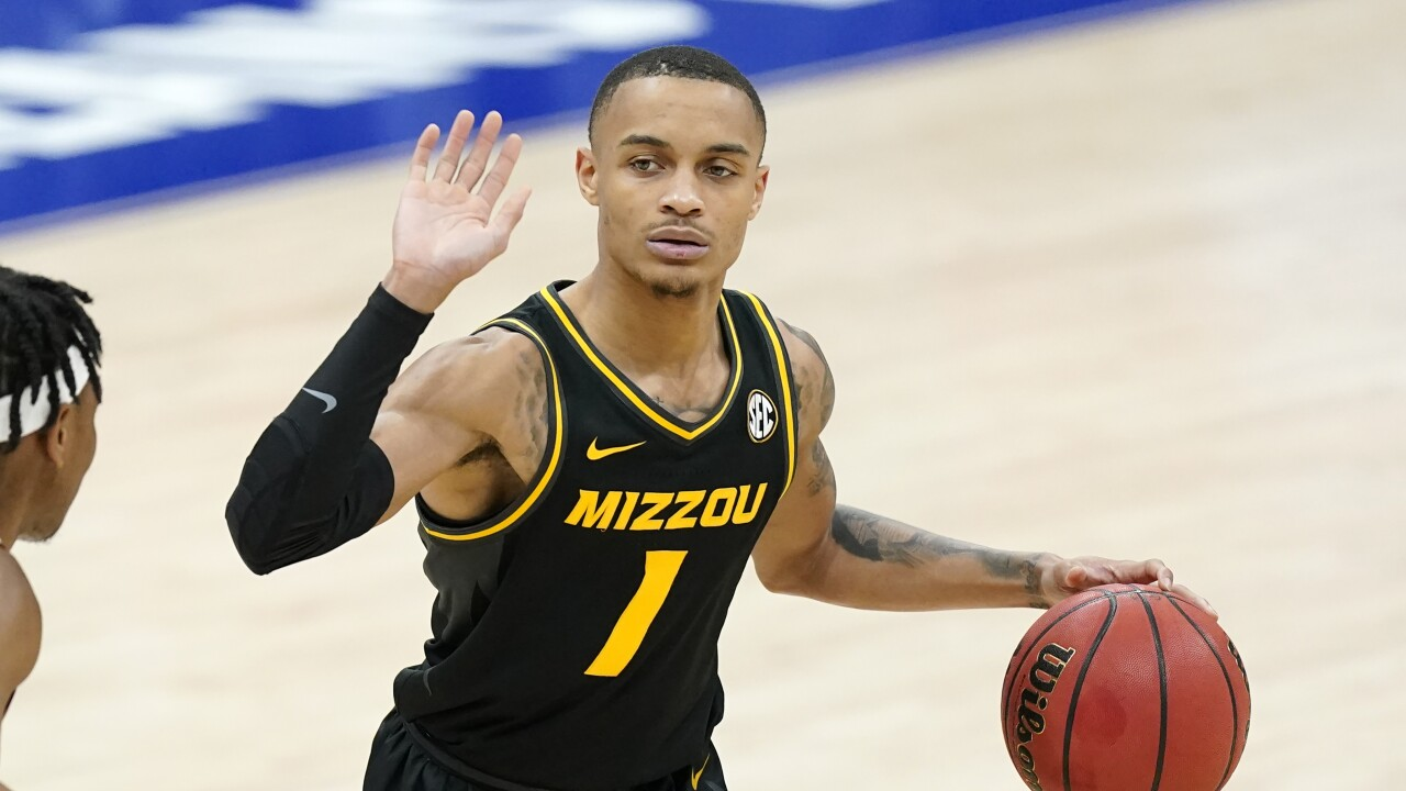 Missouri Basketball Xavier Pinson
