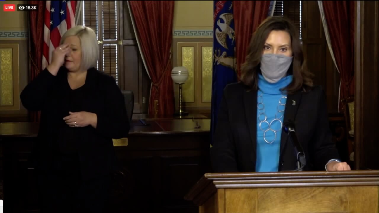 Governor Whitmer Another lockdown possible covid