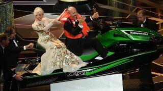 Jet Ski winner Mark Bridges had the best Oscar night